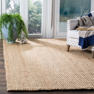 Safavieh Natural Fiber Coastal Hand-Woven Natural Jute Area Rug (8' x 10')