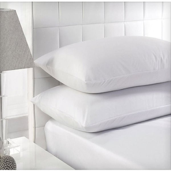 Beauty Sleep Cotton White Feather Pillows (Set of 2)