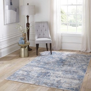 Lurance Abstract Area Rug (8'6 x 11'6)