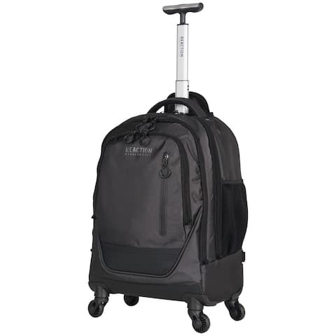 Kenneth Cole Reaction 17-Inch Laptop Rolling 4-Wheel Spinner Backpack Book Bag