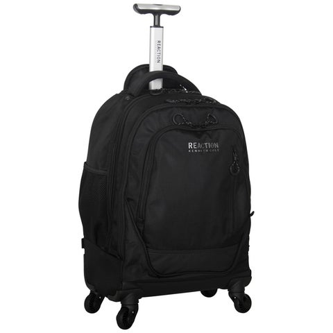 Kenneth Cole Reaction Multi-compartment 1680D Polyester 4-wheel Spinner 17-inch Laptop Business Backpack
