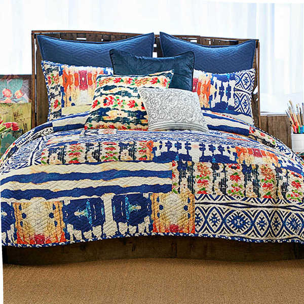 Tracy Porter Griffin Abstract 100% Cotton Voile Printed Quilt