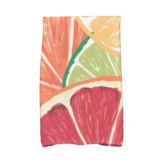 Lemonade Geometric Print Kitchen Towels
