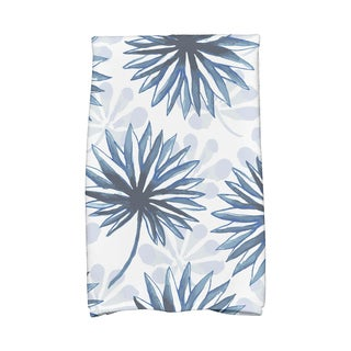 Spike and Stamp Floral Print Kitchen Towels