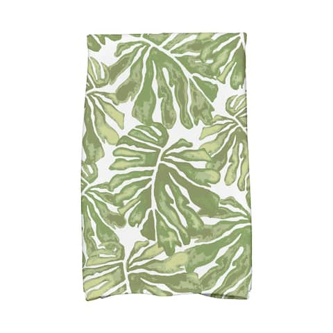 Palm Leaves Floral Print Kitchen Towels