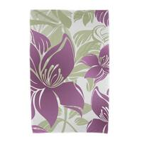 36 x 72-inch Tree Mallow Floral Print Beach Towels