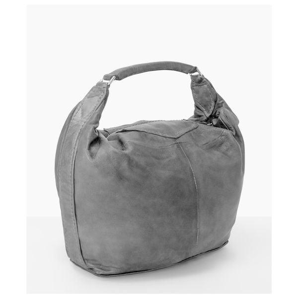 Liebeskind Berlin Tumba Black Grey Brown Leather Shoulder Handbag