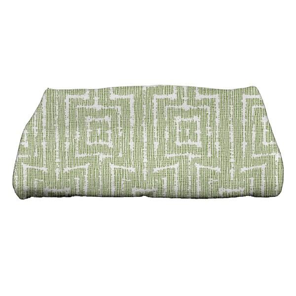 Woven Tiki Geometric Print Bath Towel
