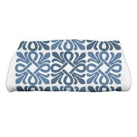30 x 60-inch Tiki Square Geometric Print Bath Towel