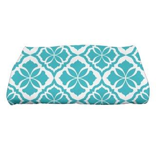Ceylon Geometric Print Bath Towel