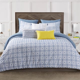Antik Batik Indigo 3-Piece Duvet Cover Set