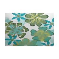 Ani Floral Print Indoor/Outdoor Rug