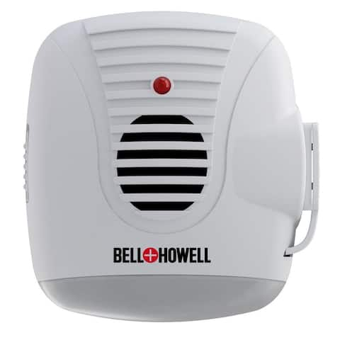Bell + Howell Ultrasonic Pest Repeller with AC Outlet and Night Light Home Kit - 4 Pack - White