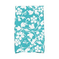 Evelyn Floral Print Hand Towels