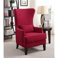 Picket House Furnishings Kegan Accent Chair in Berry