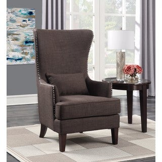 Picket House Furnishings Kegan Accent Chair in Chocolate
