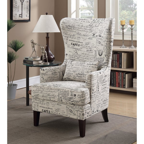 Genial Picket House Furnishings Kegan Accent Chair In French Script