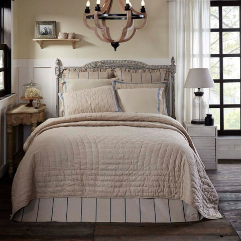 Charlotte Cotton Quilt (Shams Not Included)