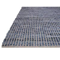 Fab Habitat Recycled Cotton & Denim Rug - Vienna