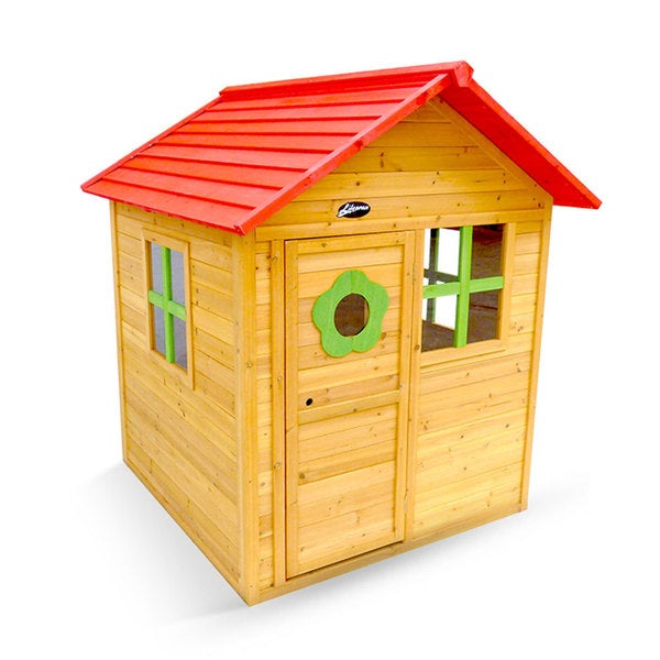 Outward Play Children's Wooden Outdoor Badger Cubby Playhouse