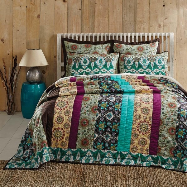 Capri Cotton Quilt (Shams Not Included)