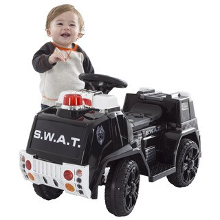 Police SWAT Truck Battery Powered Ride on Toy by Lil' Rider