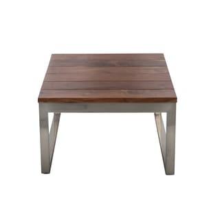 Handmade Softblock // Trundle End Table (India)
