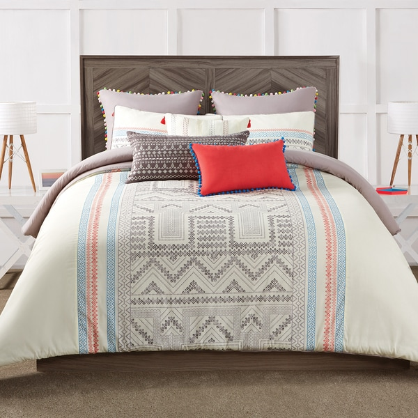 Antik Batik Margo 3-Piece Duvet Cover Set
