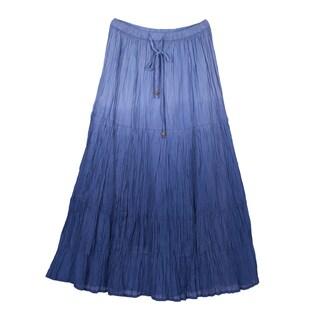 River & Rose Ladies Dip Dye 3-Tier Skirt