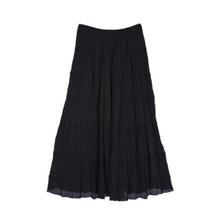 River & Rose Ladies Cotton 6-Tier Skirt