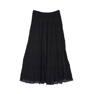 River & Rose Ladies Cotton 6-Tier Skirt