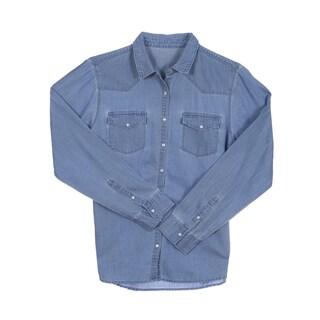 River & Rose Ladies Long Sleeve Western Shirt