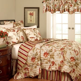Waverly Charleston Chirp Cotton Quilt Set