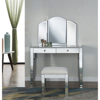 Elegant Lighting Contempo Two Drawer Dressing Table