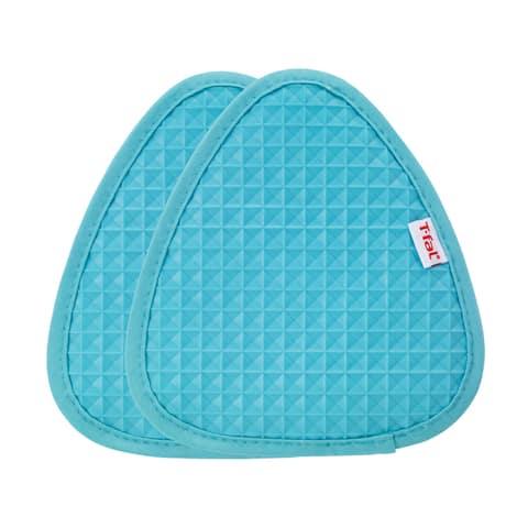 T-fal Textiles 2 Pack Soft Flex Waffle Silicone Pot Holder Set