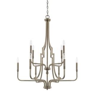 Capital Lighting Dawson Collection 10-light Aged Brass Chandelier