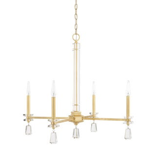 Capital Lighting Milan Collection 4-light Capital Gold Chandelier