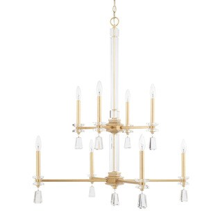 Capital Lighting Milan Collection 8-light Capital Gold Chandelier