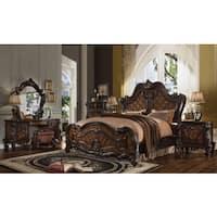 Royal Sleigh Brown MDF/Wood/Veneer Bed