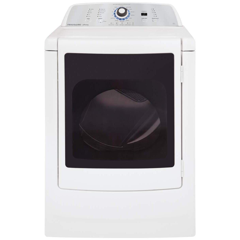 """Frigidaire FARG4044MW 27"""" Affinity High Efficiency Dryer ..."""