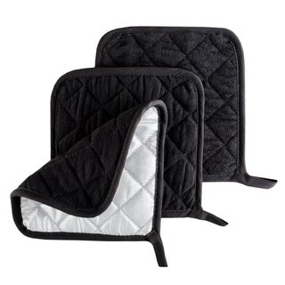 Pot Holder Set, 3 Piece Set Of Heat Resistant Quilted Cotton Pot Holders By Windsor Home|https://ak1.ostkcdn.com/images/products/15635908/P22067086.jpg?_ostk_perf_=percv&impolicy=medium