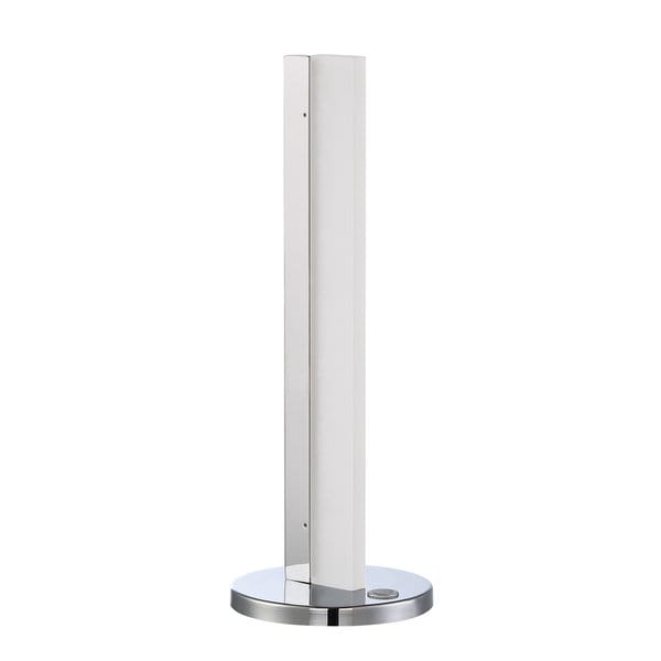Strate Series Chrome/White LED Table Lamp