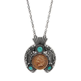 Indian Penny Ornate Headdress Necklace|https://ak1.ostkcdn.com/images/products/15636312/P22067344.jpg?impolicy=medium