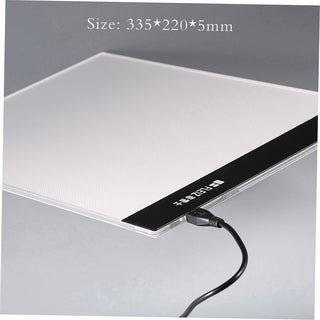 A4 LED Light Stencil Art Board Drawing Table USB Interface Drawing Board
