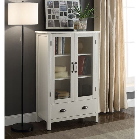 Briarwood Home Decor Painted Wood Storage Cabinet