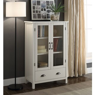 Briarwood Home Decor Painted Wood Storage Cabinet (Option: Grey)