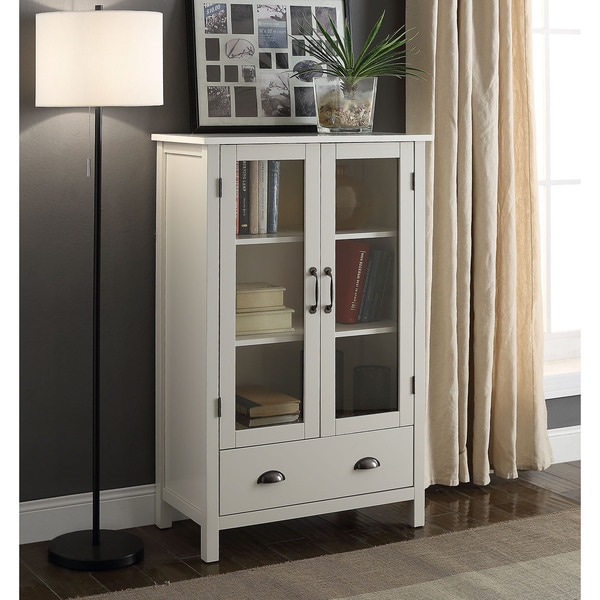 Shop Briarwood Home Decor Painted Wood Storage Cabinet