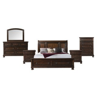Picket House Furnishings Kingsley Storage 6PC Bedroom Set