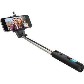 Knox Monopod Selfie Stick with Bluetooth Remote and Zoom Function - Black|https://ak1.ostkcdn.com/images/products/15639595/P22070433.jpg?impolicy=medium