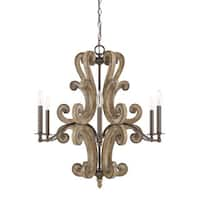 Capital Lighting Renaissance Collection 6-light Renaissance Chandelier